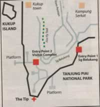 Tanjung Piai Location Map