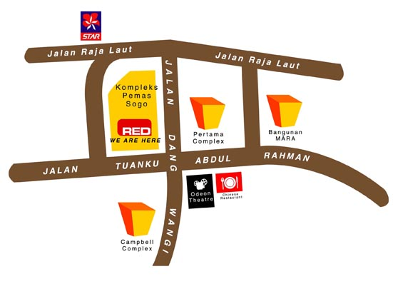 Sogo location map