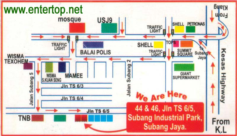 Subang Jaya Map, City map, Street map, direction map ... on directions to and from maps, google world map, location and direction map, following directions map, giving directions map, directions on paper,